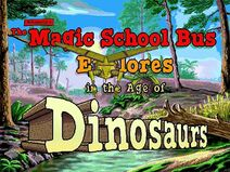The Magic School Bus Explores in the Age of Dinosaurs Title