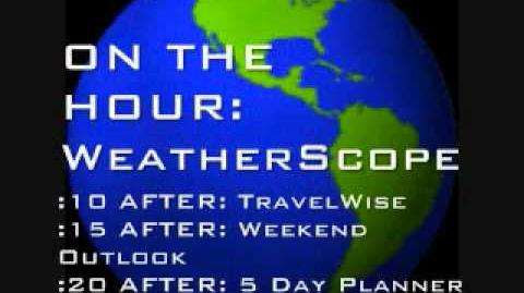 The Weather Channel coming up and Local Forecast (Custom made)