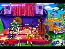 The Magic School Bus In Concert Outside the Bus