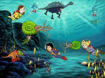 The Magic School Bus Explores in the Age of Dinosaurs Jurassic Tethys Sea