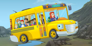 The Magic School Bus Rides Again The Bus