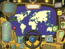 The Magic School Bus Explores in the Age of Dinosaurs Choosing a Destination Map