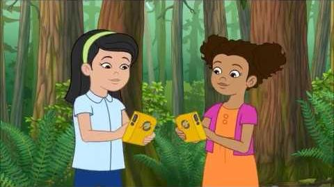 The Magic School Bus Rides Again - Wanda, Keesha and Everyone transforms into Wasps and Trees