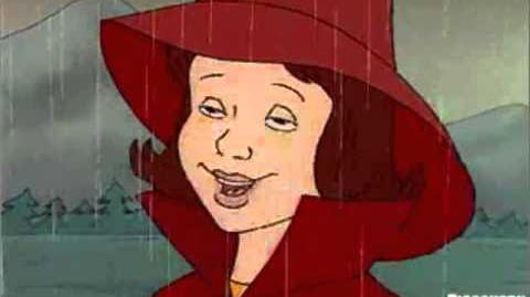 The Magic School Bus - The Weather Channel ident - Phoebe walking in the rain