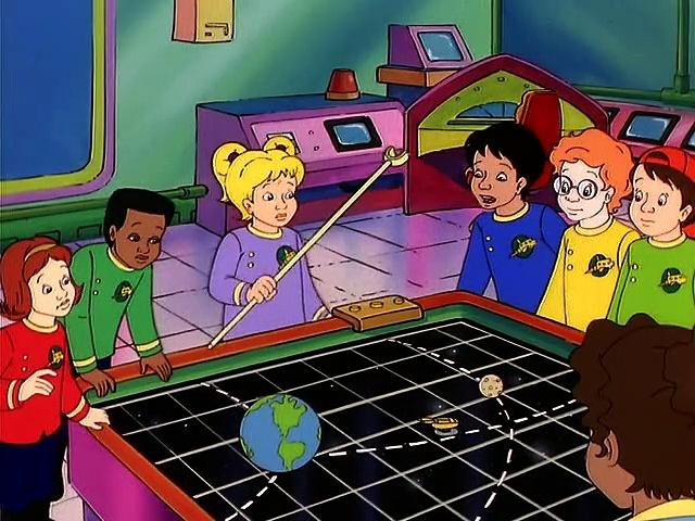 The Magic School Bus S02E11 Out Of This World (Space Rocks)