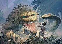 Crocodile Of The CrossingART1