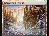 Foresta di Karplus (Karplusan Forest)
