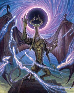 Nicol Bolas, Dragon-GodART3