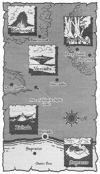 Mercadia Map