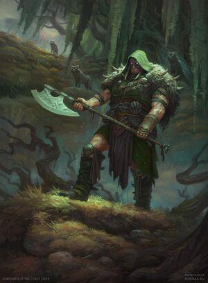 Garruk, Cursed HuntsmanART2