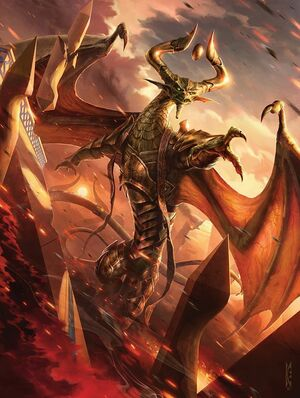 Nicol Bolas, God-PharaohART1