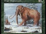 Mammut da Guerra (War Mammoth)