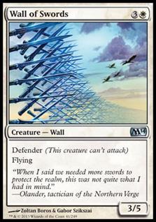 Wall of SwordsM14