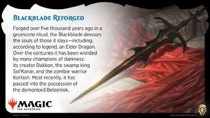 Blackblade postcard