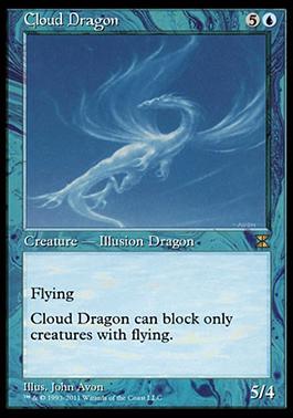 Cloud DragonMTGO4
