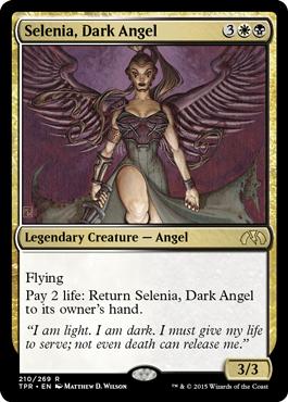 Selenia, Dark AngelTPR