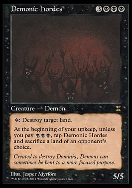 Demonic HordesMTGO4