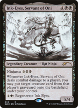 Ink-Eyes, Servant of OniSL