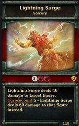 Lightning-surge