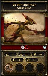 Goblin-sprinter