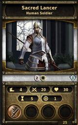 Sacred-lancer