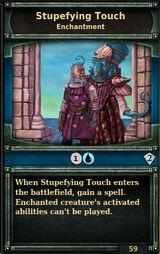 Stupefying-touch
