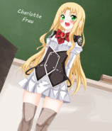 Magika no kenshi to Shoukan Maou-Charlotte