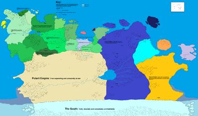 Meerenva World Map v0.04