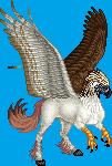 Tetzcotal Eagle Hippogryph m