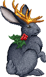 Black Holly Jackalope Adult