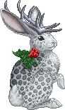 Spotted Holly Jackalope Adult