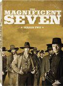 The Magnificent Seven Season 2 DVD cover