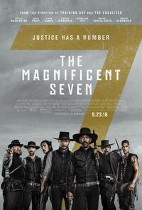 The Magnificent Seven (2016 film) poster 4