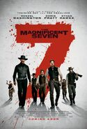 The Magnificent Seven (2016 film) poster