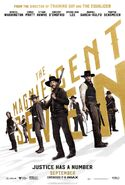 The Magnificent Seven (2016 film) poster 2