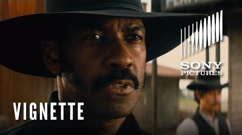 THE MAGNIFICENT SEVEN Character Vignette - The Bounty Hunter (Denzel Washington)