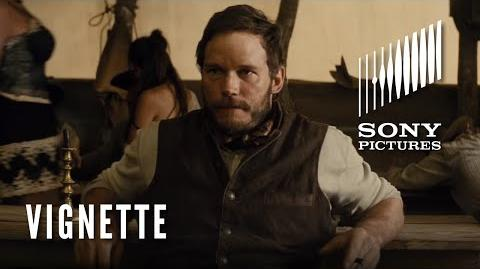 THE MAGNIFICENT SEVEN Character Vignette - The Gambler (Chris Pratt)