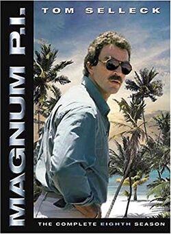 Magnum PI (1980, Season 8) DVD
