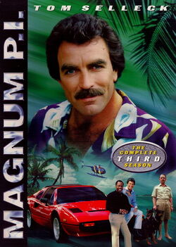 Magnum PI (1980, Season 3) DVD