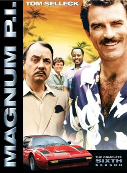 Magnum PI (1980, Season 6) DVD