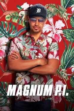 Magnum PI (S1) poster