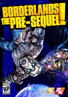 Borderlands The Pre-Sequel box art