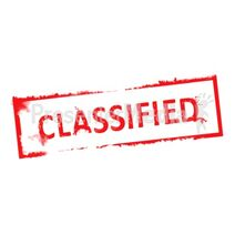 Classified rubber stamp md wm-1-