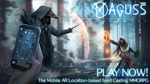 Maguss - The Mobile Location-based Spell Casting Game (Official) + Gameplay