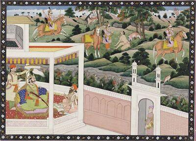 Pandu Shoots the Ascetic Kindama
