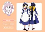 Mahoro Ando 01 apariencia maid