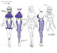 Snake Lady Concept Art