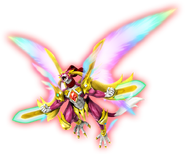 Abarera flying