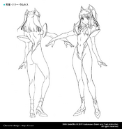 Lily Concept Art