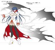 Asagi Vampire Concept Art